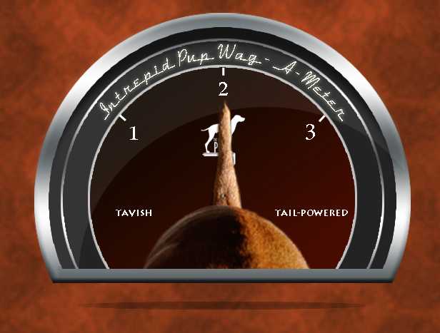 Click to see what 2 on the Wag-A-Meter means