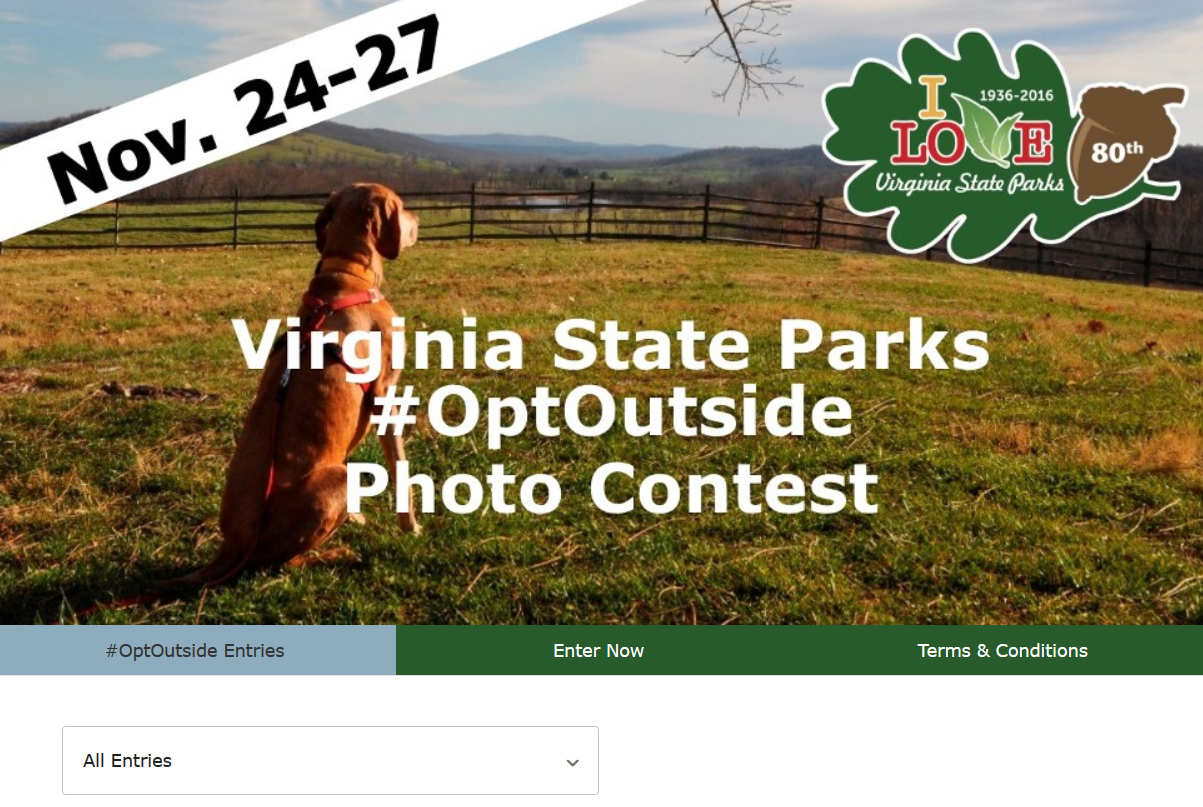 2016 Opt Outside with Virginia State Parks