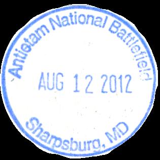 Antietam National Battlefield stamp