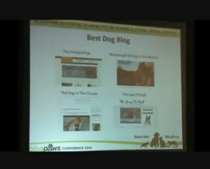 Best Dog Blog 2014