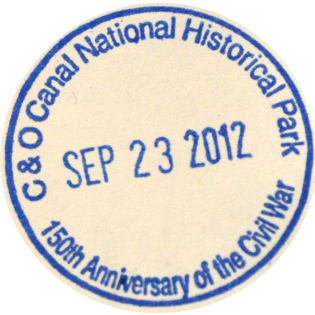 C&O Canal - DC stamp