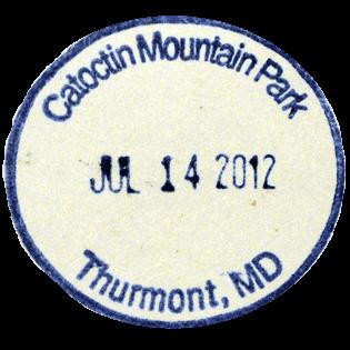 Catoctin Mountain Park stamp