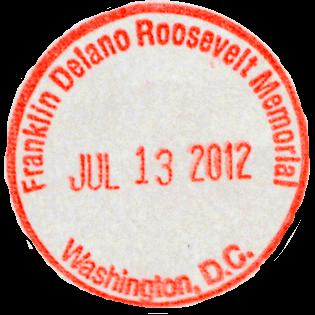 FDR Memorial stamp