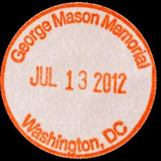 George Mason Memorial stamp