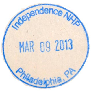 Independence NHP stamp
