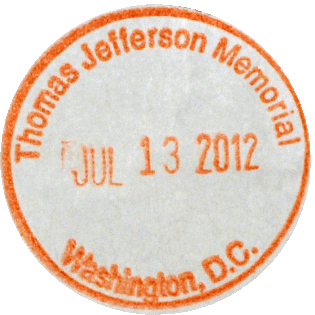 Jefferson Memorial stamp