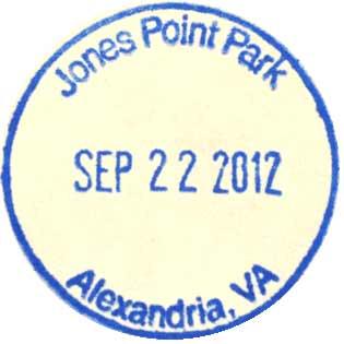 Jones Point Park stamp