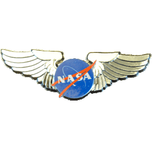 NASA Wings given out by NASA rep during Space Shuttle Discovery's flight over DC 4/17/2012