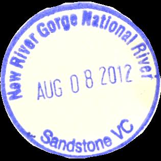 New River Gorge - Sandstone