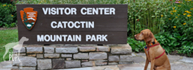 Catoctin Mountain Park visitor center