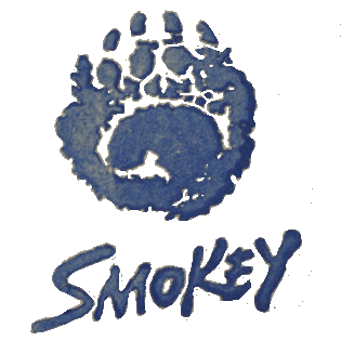 Smokey Bear stamp - U.S. Forest Service