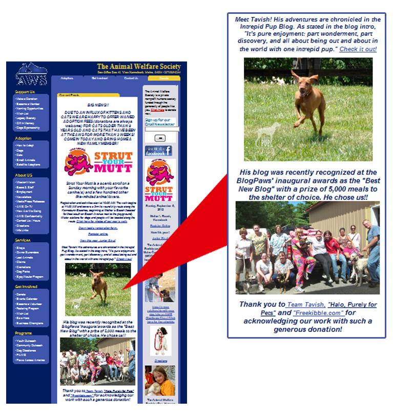 AWS website August 2012