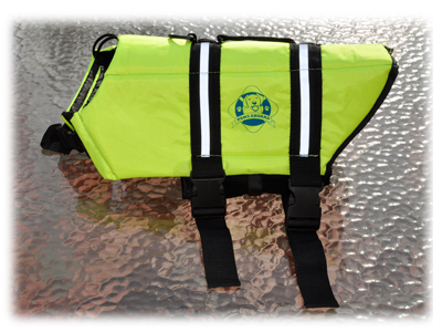 Life vest from Paws Aboard
