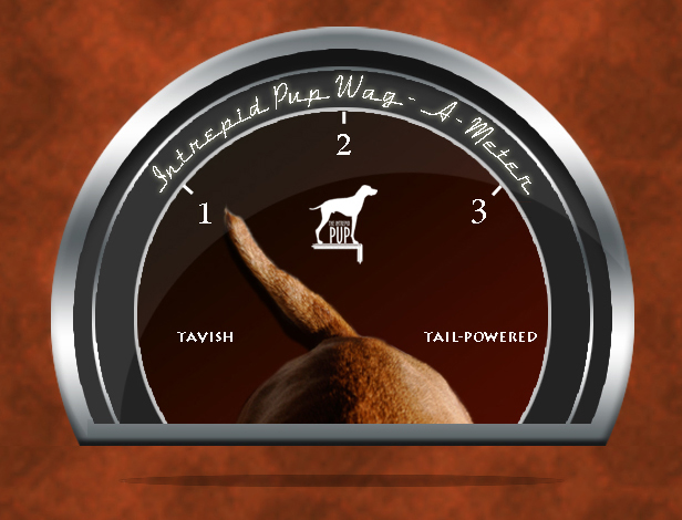 "Click to see what a ""1"" on the Wag-a-meter means"